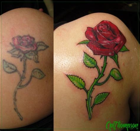 cptthompson coverup rose tattoos von tattoo bewertung de