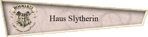 Das Haus Slytherin In Hogwarts Harrypotter Fanclub