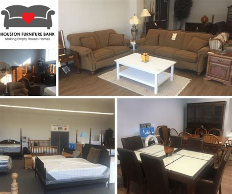 houston furniture bank outlet center has a new home