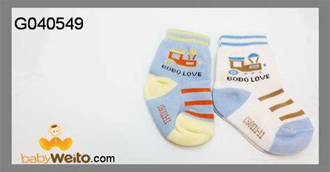 Kaos Kaki Miti Isi 2 Untuk Usia 0 6 Blnan g040549 kaos kaki isi 2 motif untuk laki laki bahan halus dan lembut warna sesuai gambar idr 35