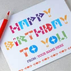 how to write a happy birthday card gangcraft net