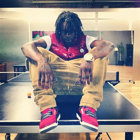 Chief Keef Wardrobe by Chief Keef Wearing Moncler Tib Quilted Vest