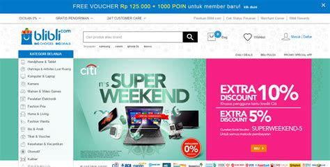blibli company 7 situs belanja online terpercaya dan terbaik di indonesia