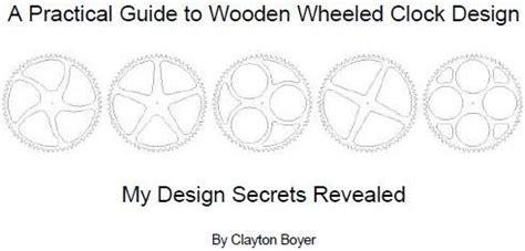 wooden gear clock plans  jessie shiver blog