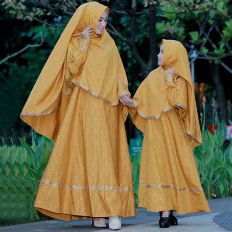 Baju Muslim Syari Ibu Anak model baju gamis ibu anak baloteli embos modern milea 2