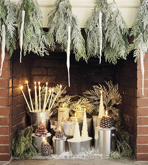 fireplace display top 7 christmas decor ideas with candles to warm up your