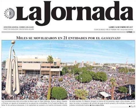 noticia de la jornada del dia 16 de marzo de 2016 la crisis de los medios obliga a la jornada a reducir