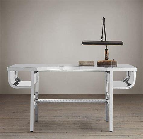 polished chrome desk accessories factory metal desk polished chrome i restoration
