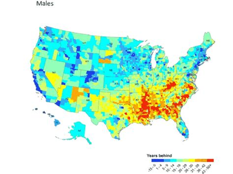 Sections Of Usa by Map Of The Day Parts Of America With Shamefully Low Expectancy Business Insider
