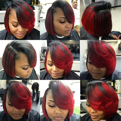 red weave bob 17 best images about bobs on pinterest feathered bob