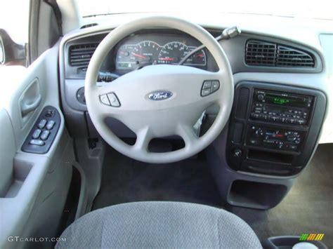 2002 Ford Windstar Interior by 2002 Ford Windstar Lx Medium Graphite Grey Dashboard Photo