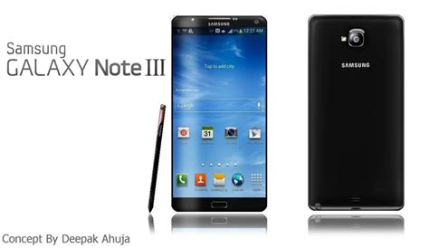 samsung galaxy note 3 on galaxy note ii concept phones