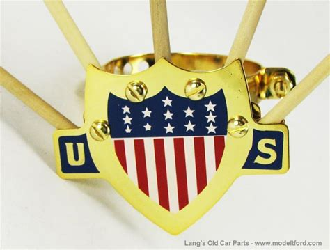 L Terlaris Holder Tongsis Model U model t 5 flag set holder with white blue us shield gold plated a fh bgd