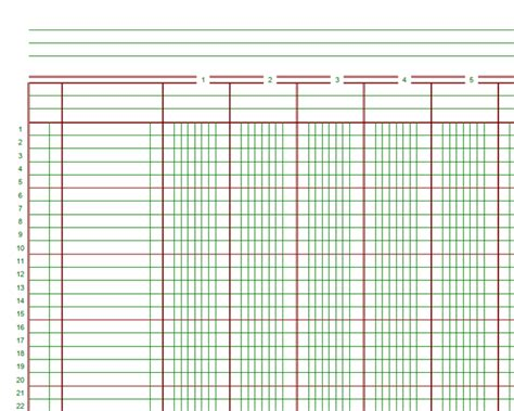 ledger template printable the vantage point from ledgers to electronic spreadsheets