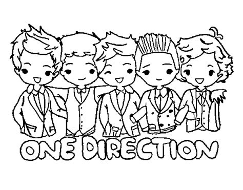 Coloring Pages One Direction Online | one direction coloring page coloringcrew com