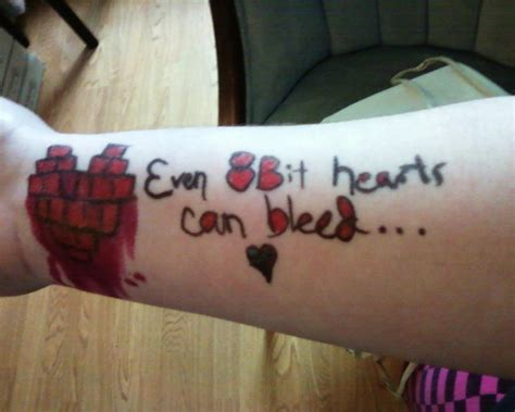 8bit heart skin graffiti by lightsoutgocrazy on deviantart