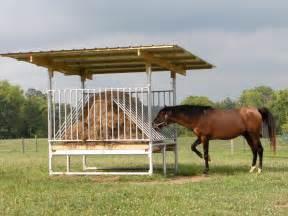Feeders For Horses covered bale feeders hay