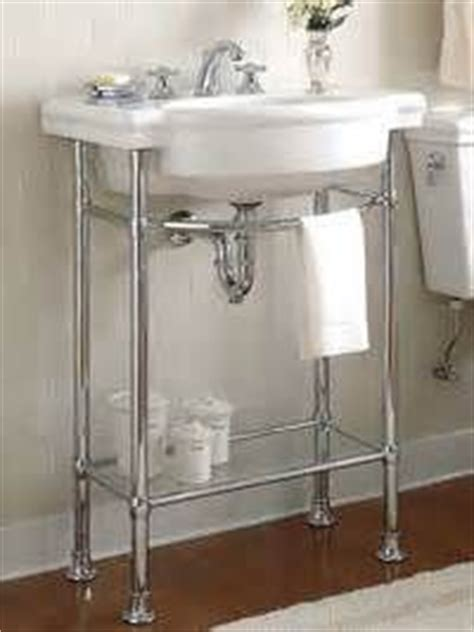 metal leg bathroom vanity 1000 images about small bathroom metal vanities on