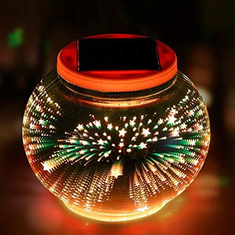 color changing solar powered glass ball garden lights