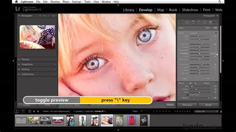 video tutorial lightroom 5 italiano lightroom 5 tutorial improving the eyes lynda com youtube