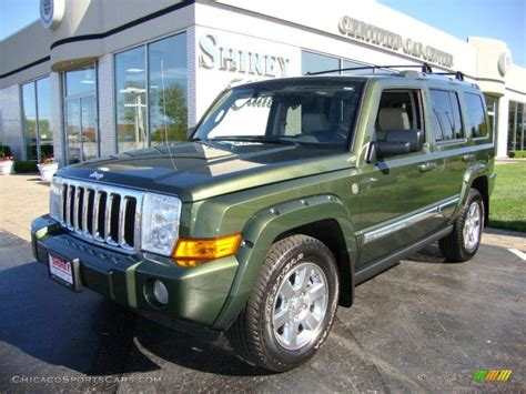 Jeep Commander Reliability 2006 2006 Jeep Commander Limited 4x4 In Jeep Green Metallic