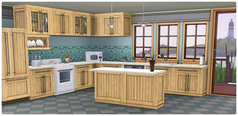 bayside kitchen set store the sims 3
