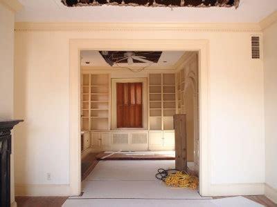 unused library   warm kitchen architectural