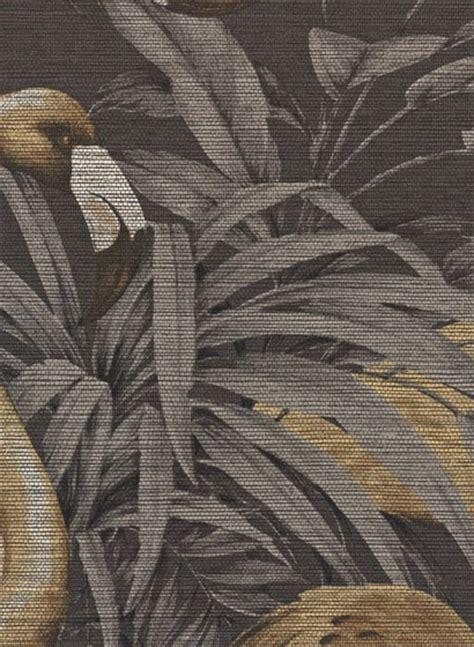 tropische tapete tropische tapete flamingo arte gelb schwarz 2502 3