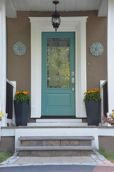 front door colors for tan house with brown trim how to pick shutter colors a front door color beige house