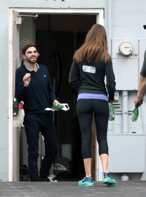 hilary swank paris home hilary swank booty in leggings leaving a gym in los