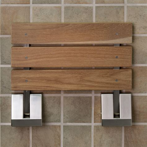 teak bench for shower teak shower seat is perfect options the homy design