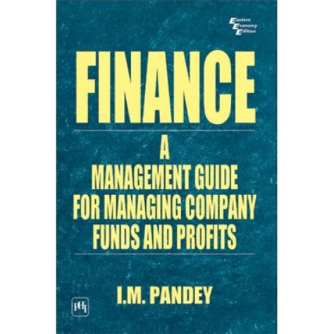 Ebook Stock Profits finance a management guide for managing company funds and