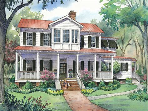 southern country homes country living house plans country living farmhouse plans