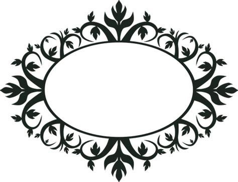 imagenes de png blanco y negro arte ornamental marco oval vector clip vectores de