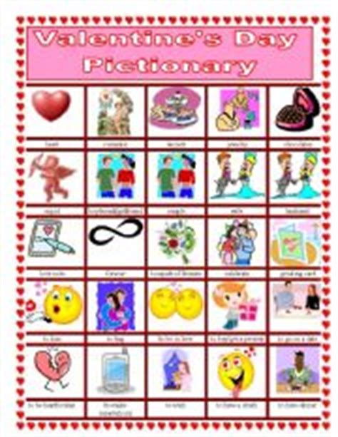 valentines day pictionary 180 s day pictionary worksheet by suzanne