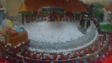 クリスマス 電動スノードーム electric snow globe youtube