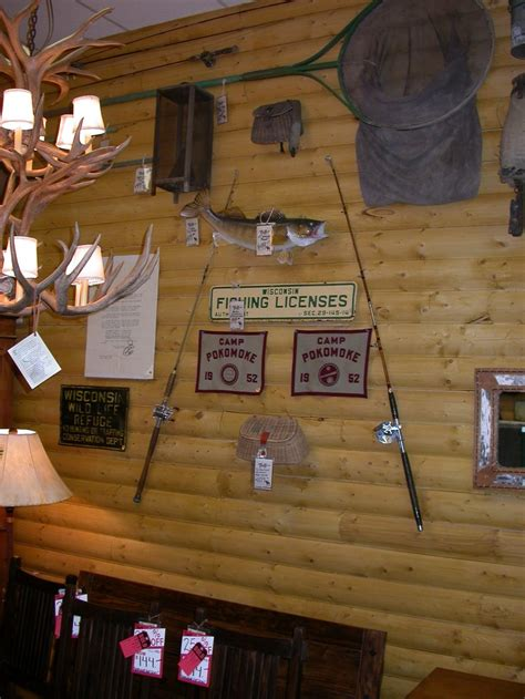 fishing c decor cabin interior c