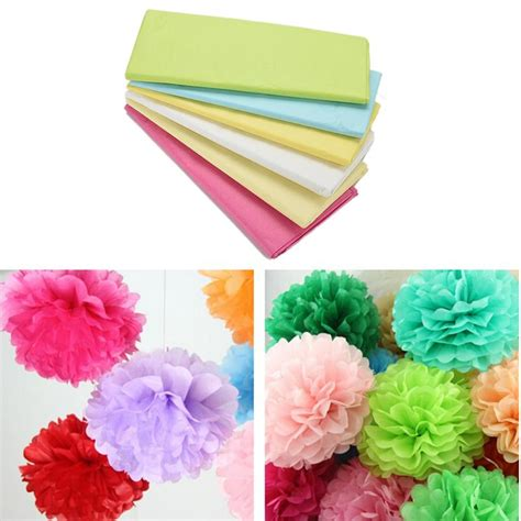 Wrapping Paper Roll Crafts - sales new tissue paper flower wrapping paper gift