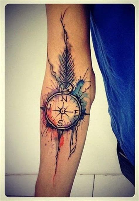 juice tattoo numbers watercolor tattoo 20 awesome compass tattoo ideas for