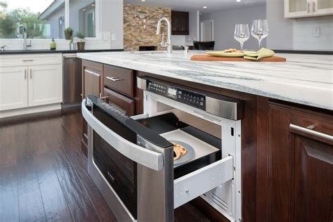 kitchen island with microwave drawer back to school is your kitchen ready