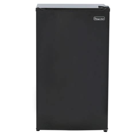magic chef 3 5 cu ft mini refrigerator in black