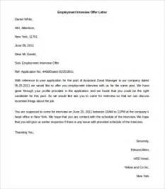 Employment Letter Template Word by Free Employment Letter Template 24 Free Word Pdf