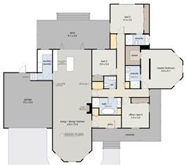 new house blueprints bay villa house plans new zealand ltd