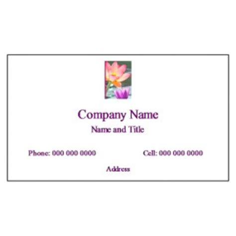 Avery Templates For Business Cards 8869 by Free Avery 174 Template For Microsoft 174 Word Business Card