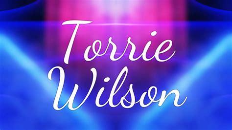 torrie wilson entrance torrie wilson 2018 entrance video youtube