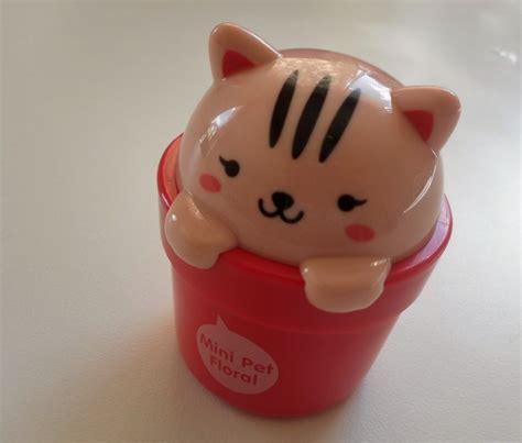 face shop lovely meex mini pet perfume hand cream