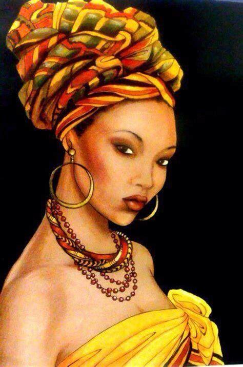 black queen art afro natural hair art afro art pinterest african