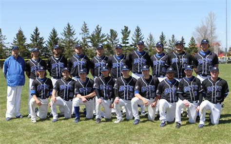 baseball teams dctc baseball closes out season 31 21 dctc news