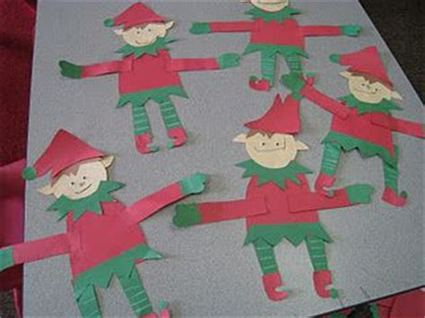 elf craft pre k christmas pinterest