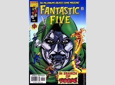 Fantastic Five (1999 1st Series) comic books Invisible Woman Powers